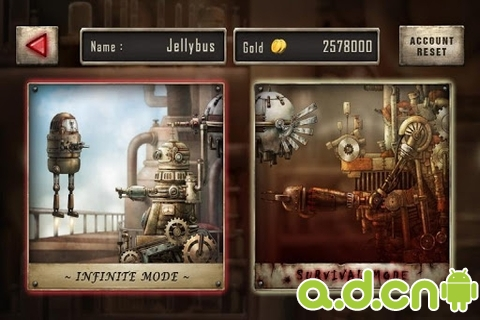 機器人星球之戰ARMv6版Zolaman Robot Gunz HD v1.2.4-Android射击游戏類遊戲下載