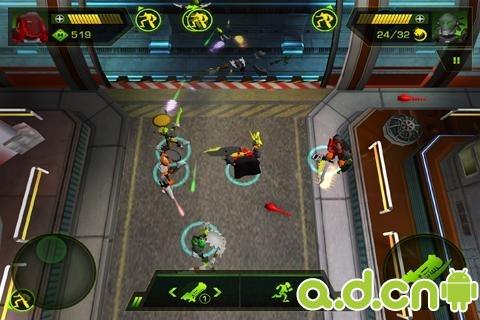 大腦攻擊波LEGO® HeroFactory Brain Attack v2.1-Android射击游戏免費遊戲下載