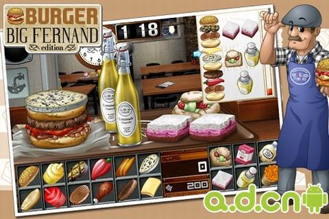 漢堡店大費爾南 v1.0.2,Burger Big Fernand