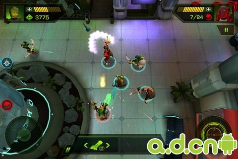 大腦攻擊波(含數據包) LEGO HeroFactory Brain Attack v2.1-Android射击游戏免費遊戲下載