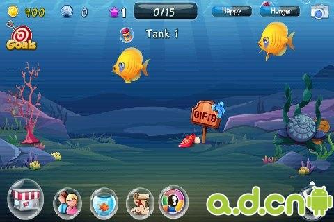 魚兒的海底世界 Fish Adventure v1.2.19-Android养成游戏類遊戲下載
