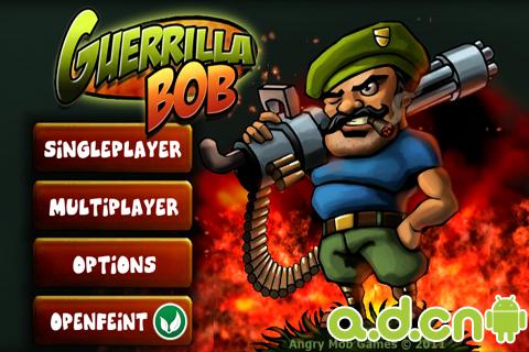 遊擊隊鮑勃 Guerrilla Bob v1.4-Android射击游戏免費遊戲下載