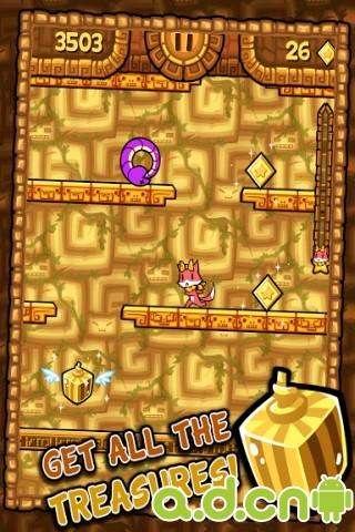 小貓快跑2 v1.0,Tappy Run 2 – Temple Adventure