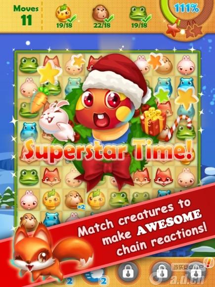 森林工坊:聖誕節版 Forest Mani v1.1-Android益智休闲類遊戲下載