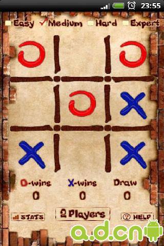 三連棋 v7.0.29,Tic Tac Toe Pro-Android棋牌游戏遊戲下載