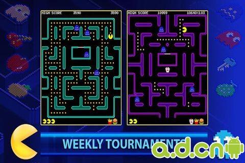 吃豆人比賽 PAC-MAN +Tournaments v1.0.7-Android体育运动免費遊戲下載