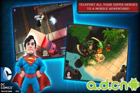 DC超級英雄大戰:精英HeroClix TabApp Elite v1.1.50-Android益智休闲免費遊戲下載