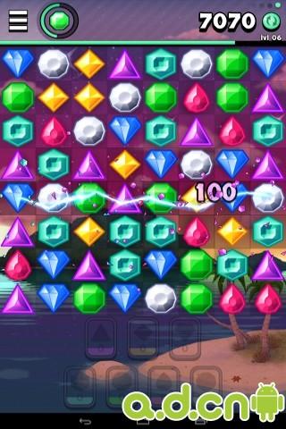 寶石消除2 Jewels 2 v1.09-Android益智休闲免費遊戲下載