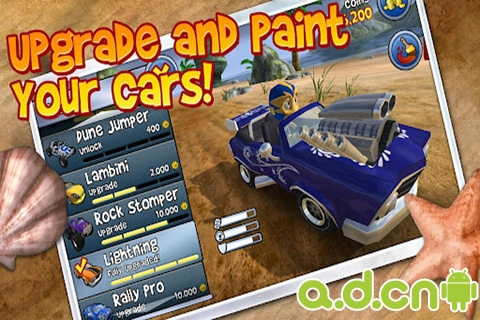 沙灘車閃電戰 v1.2.3,Beach Buggy Blitz