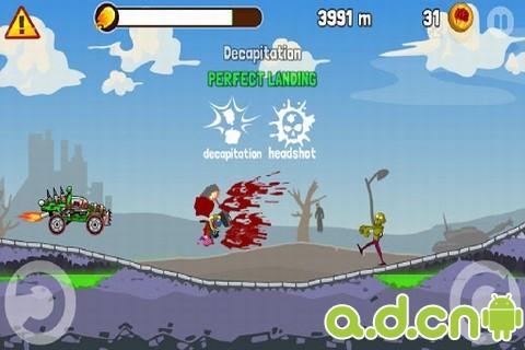 殭屍公路之旅 Zombie Road Trip v3.4-Android益智休闲免費遊戲下載
