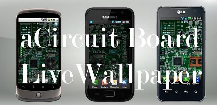 电路板动态壁纸 完整版acircuit board v1.8.