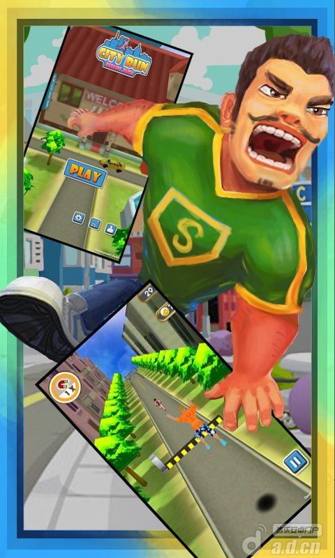 追你妹:假日逃亡 Redline Rush:City Run v1.0-Android益智休闲免費遊戲下載