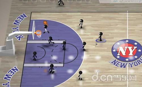 《火柴人篮球 Stickman Basketball》