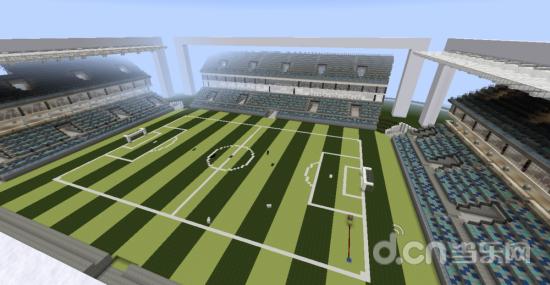 我的世界2014巴西世界杯足球场建筑效果视频