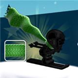绿怪物围巾