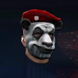 熊猫囚犯面罩