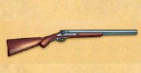 双筒霰弹枪