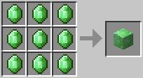 绿宝石块合成表