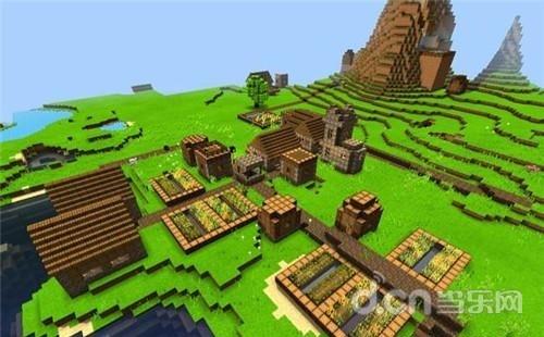 我的世界手机版高山村庄种子
