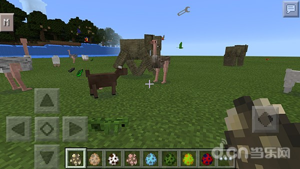 我的世界手机版超多动物JS