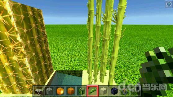 我的世界手机版高清3D材质:绿风材质