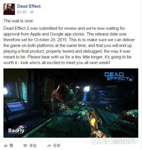 《死亡效应2》又跳票 上线时间推迟至10月29日