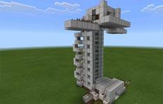 我的世界手机版建筑分享:自动红石电梯