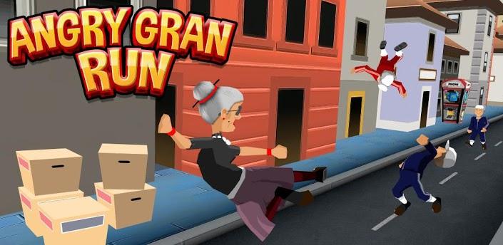 愤怒的老奶奶玩酷跑内购破解版